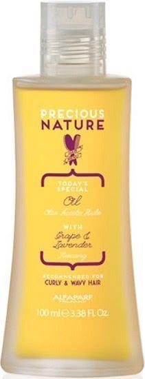 alfaparf precious nature curl & wavy aceite para cabellos rizados y ondulados